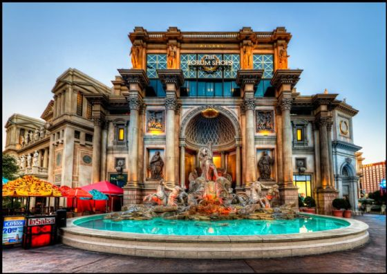 Caesar's Palace, Las Vegas Hotel and Casino, Nevada. Print/Poster. Sizes: A1/A2/A3/A4 (003413)